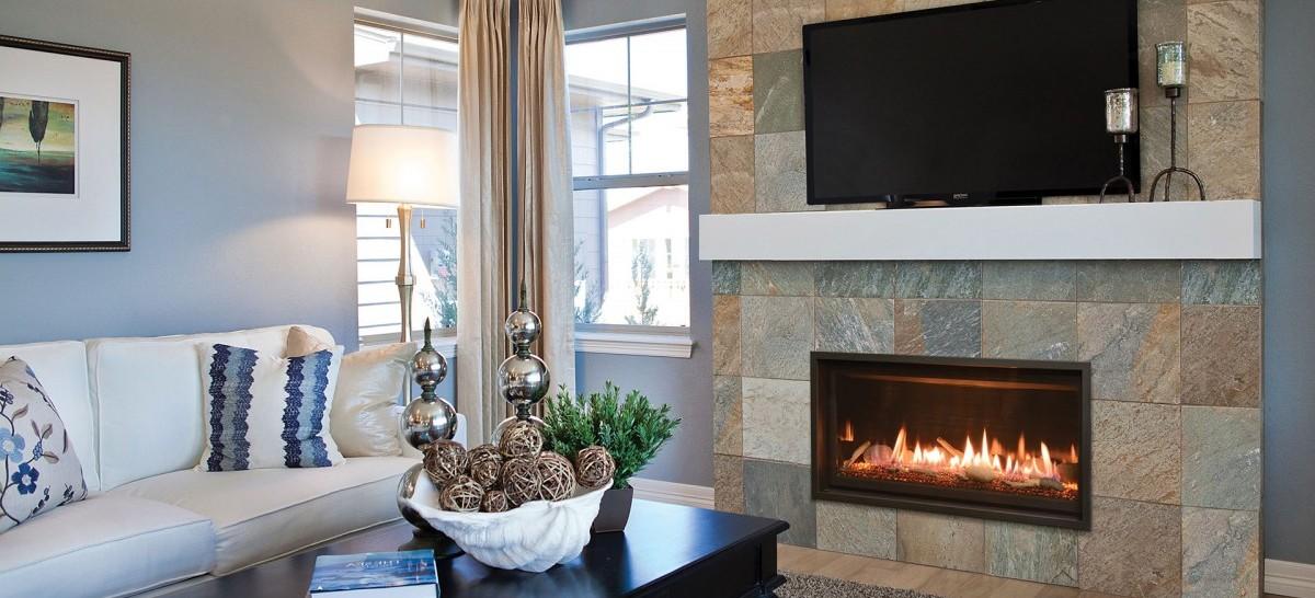 modern heat fireplace